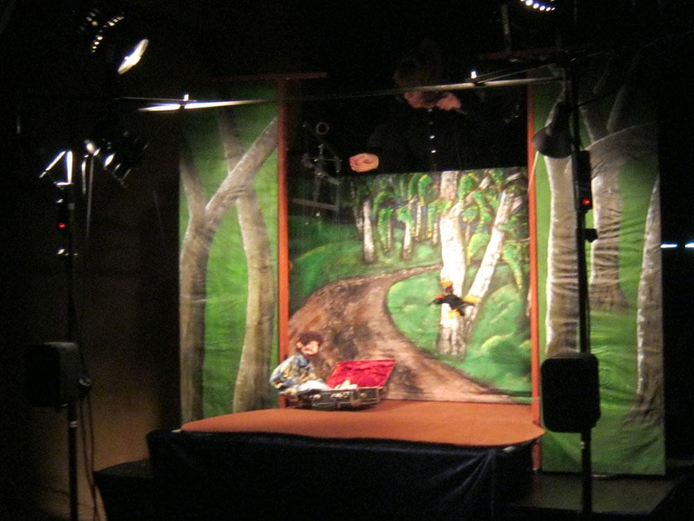 Das Marionettentheater TraumFleck: Auf der Durchreise