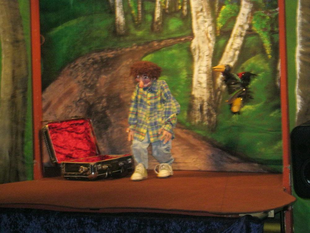 Das Marionettentheater TraumFleck: Auf der Durchreise- Maifest Hittbergen Fotogalerie -