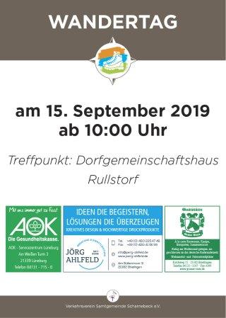 Wandertag Scharnebeck am 15. September 2019